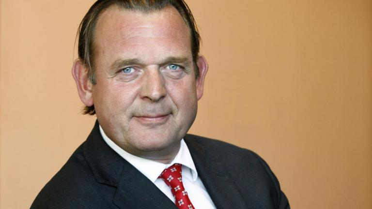 Picture of appointed National Ombudsman, Reinier van Zutphen